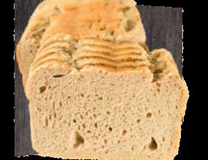 Mischbrot ohne Kruste 1kg in Scheiben