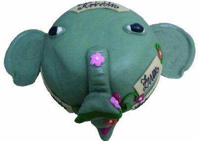 Formtorte Elefant