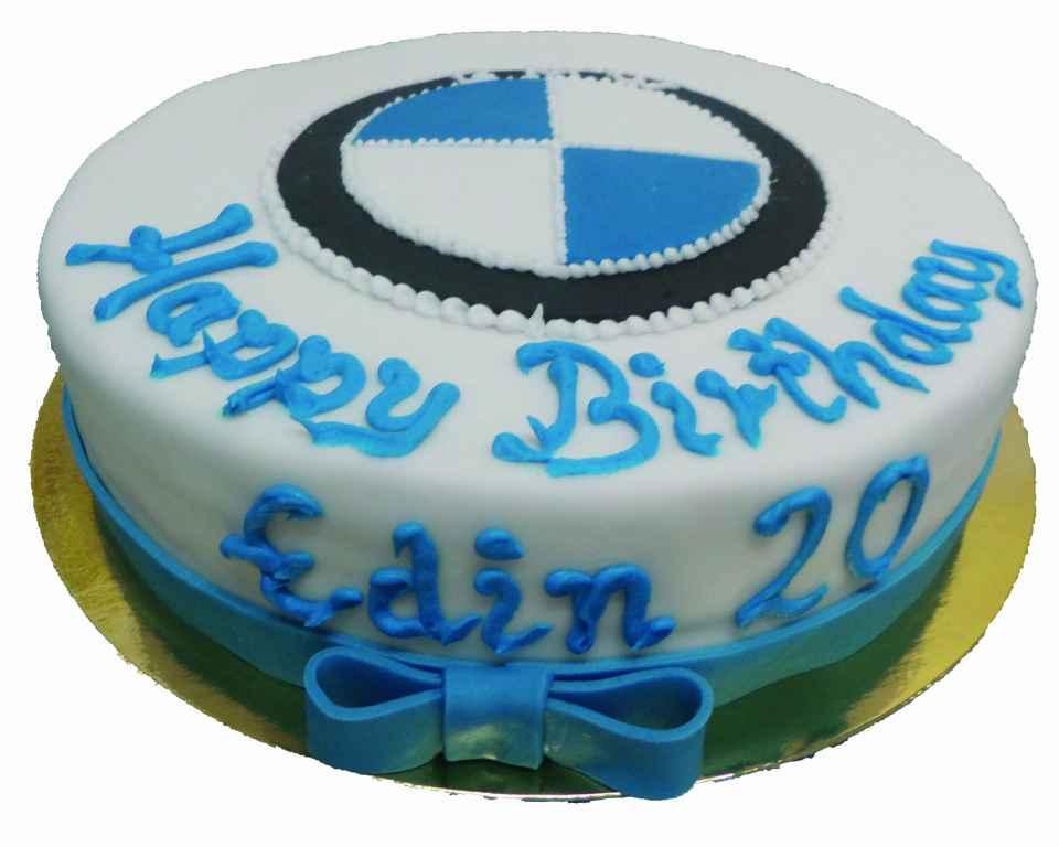 Geburtstagstorte BMW