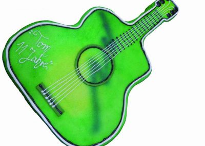Motivtorte Gitarre