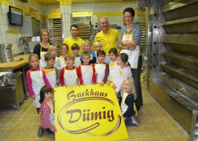 Backkurse für Kinder - Bäckerei Dümig