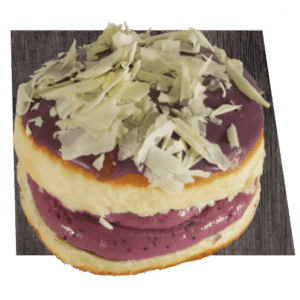 blueberry cheescake krapfen
