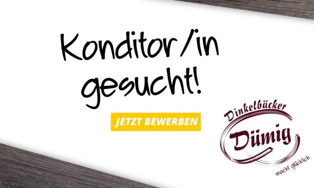 """Konditor/in -""""meister/in"""" für unsere Dinkel-Konditorei"""