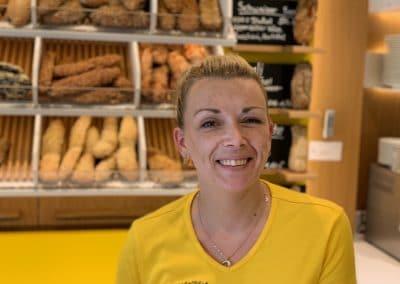 Lena Dinkel Backwaren Verkäuferin