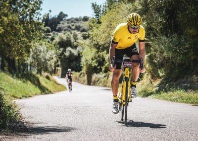 Stefan Dümig auf dem Rennrad