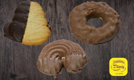 Neue Dinkelspezialitäten: Nussnougatring, Kakao Bogen und Flammendes Herz