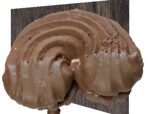 Kakaobogen aus Dinkel