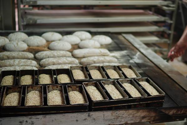 Brote aus unserem Ofen