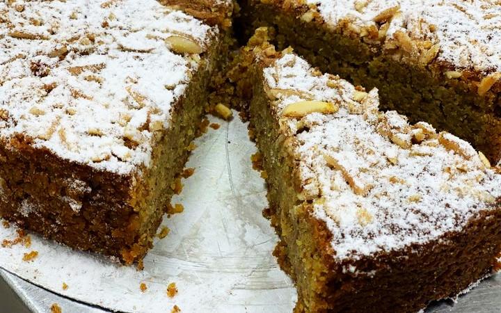 Kuchen aus Dinkel